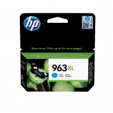 HP 963XL Original Ink Cartridge HY Cyan (Capacity: 1600 pages) 3JA27AE
