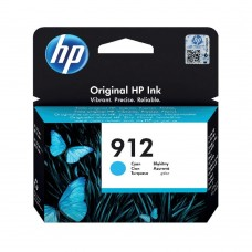 HP 912 Ink Cartridge Cyan 2.93ml 3YL77AE