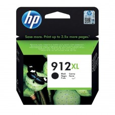 HP 912XL High Yield Ink Cartridge Black 9.9ml 3YL84AE