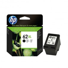 HP 62XL Black Ink Cartridge (High Yield, 600 Page Capacity) C2P05AE