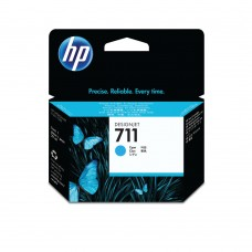 HP 711 Cyan Inkjet Cartridge (Standard Yield, 29ml) CZ130A