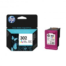 HP 302 Cyan/Magenta/Yellow Ink Cartridge (Capacity: 165 pages) F6U65AE
