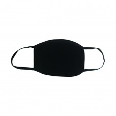 Reusable Cloth Masks 5x7 Inch in Black (Pack of 5)