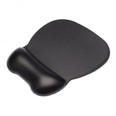 Contour Ergonomics Soft Skin Gel Mouse Mat Black