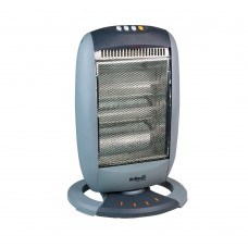 Halogen 1200W Heater (3 Halogen Heat Bars and 3 Heat Settings)