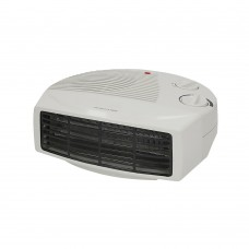 Flat Fan Heater 2kW White
