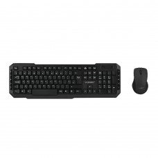 Q-Connect Wireless Keyboard/Mouse Black