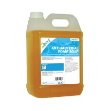 2Work Antibacterial Foam Soap 5 Litre Bulk Bottle
