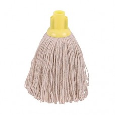 2Work Twine Rough Socket Mop 12oz Yellow (Pack of 10)