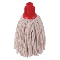 2Work PY Smooth Socket Mop 12oz Red (Pack of 10)