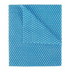 2Work Economy Cloth 420x350mm Blue (Pack of 50)