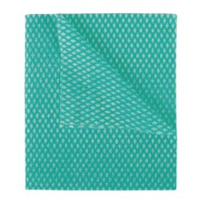 2Work Economy Cloth 420x350mm Green (Pack of 50)