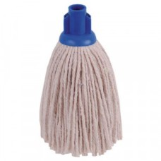 2Work PY Smooth Socket Mop 12oz Blue (Pack of 10)