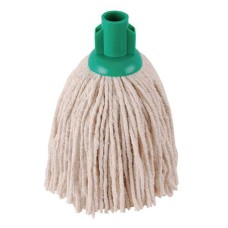 2Work PY Smooth Socket Mop 12oz Green (Pack of 10)