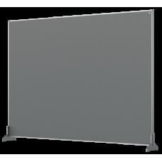 Nobo Impression Pro Desk Divider Screen Grey Felt Surface 1400x1000mm