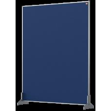 Nobo Impression Pro Desk Divider Screen Blue Felt Surface 800x1000mm