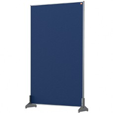 Nobo Impression Pro Desk Divider Screen Blue Felt Surface 600x1000mm