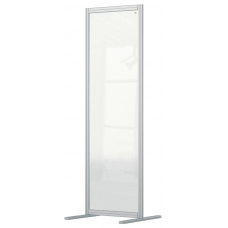 Nobo Premium Plus Clear Acrylic Protective Room Divider Screen Modular System 600x1800mm