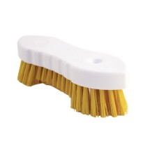 Hand Held Scrubbing Brush Yellow