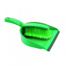 Dustpan and Brush Set Green