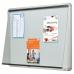Nobo External Glazed Case 12xA4 White Magnetic