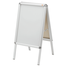Nobo A-Board Snap Frame Poster Display A2