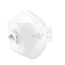 P391 - EAGLE FFP3 Valved Dolomite Fold Respirator White (Pack 10)